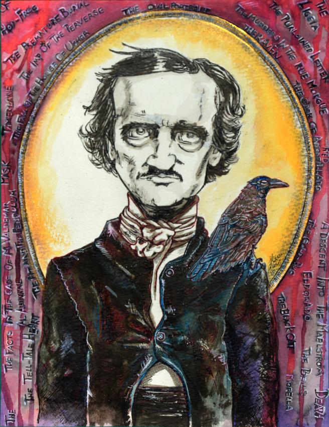 Edgar Allan Poe - Print