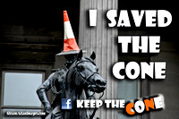 Keep The Cone - I saved the Cone